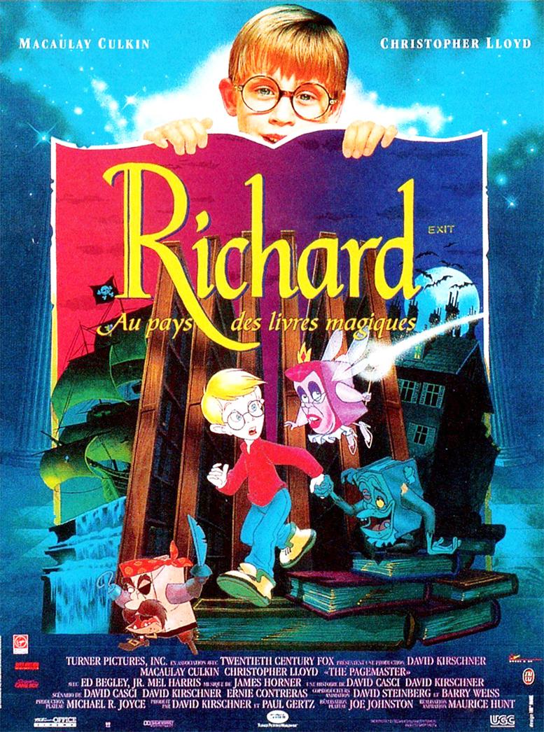 Richard Et Les Livres Magiques : richard, livres, magiques, Richard, Livres, Magiques, Adapté