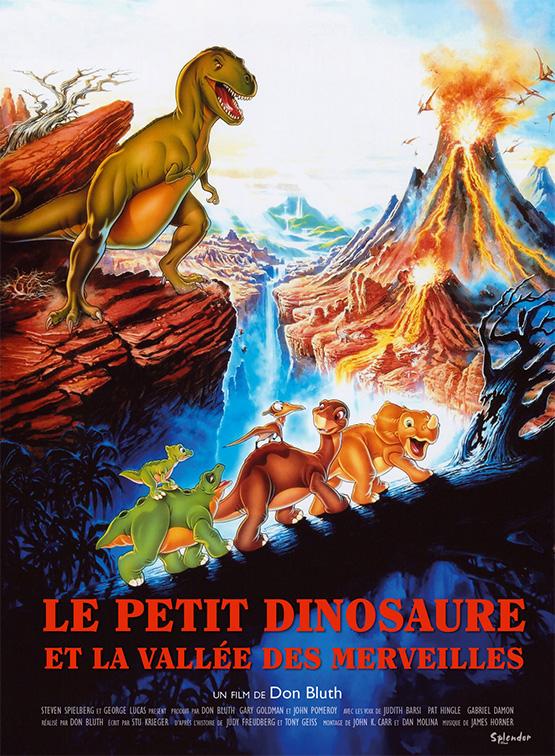 Le petit dinosaure et la vall e des merveilles est un film - Liste des dinosaures carnivores ...