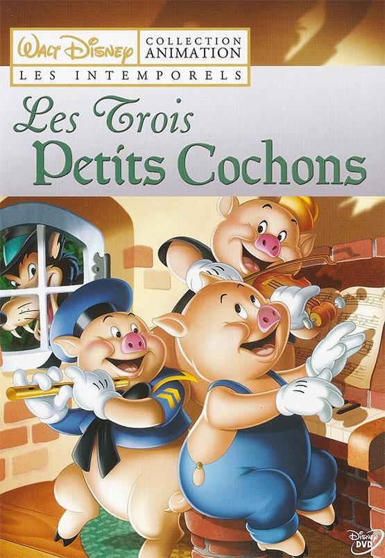 Dessin Animé Trois Petit Cochon : dessin, animé, trois, petit, cochon, Trois, Petits, Cochons, Court-métrage, Analyse.