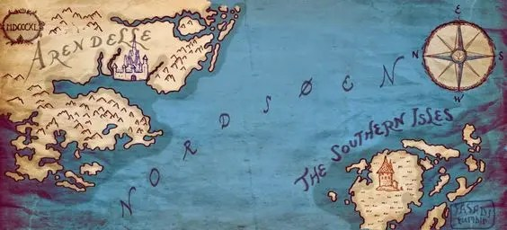 Map from Frozen Fever