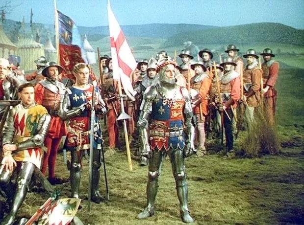 Laurence Olivier as Henry V