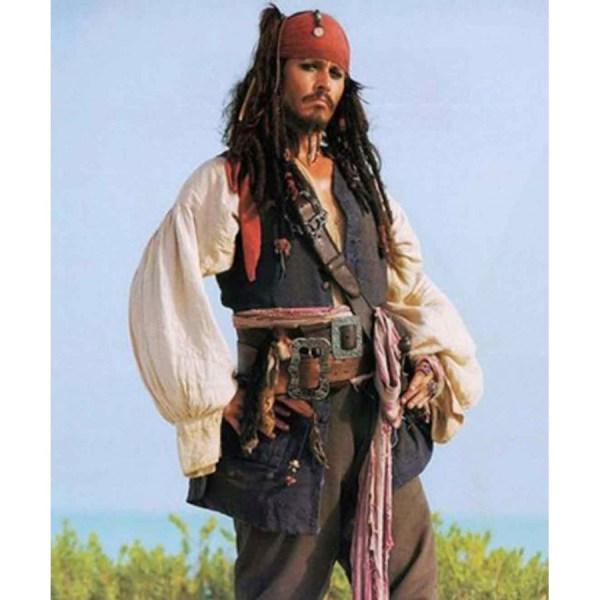 Pirates Of Caribbean Jack Sparrow Vest