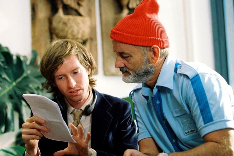 Las mejores duplas del cine: wes anderson y bill murray