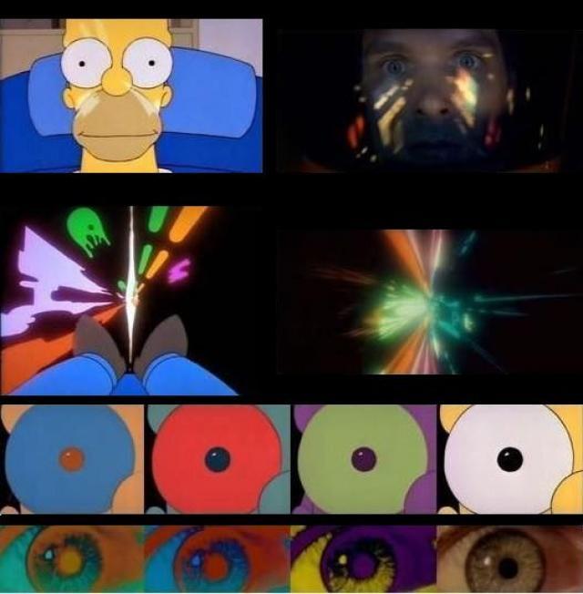 homero-2001-referencia-al-cine-de-Kubrick