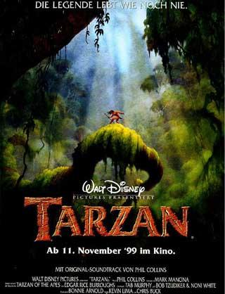 Tarzan Disney 1999