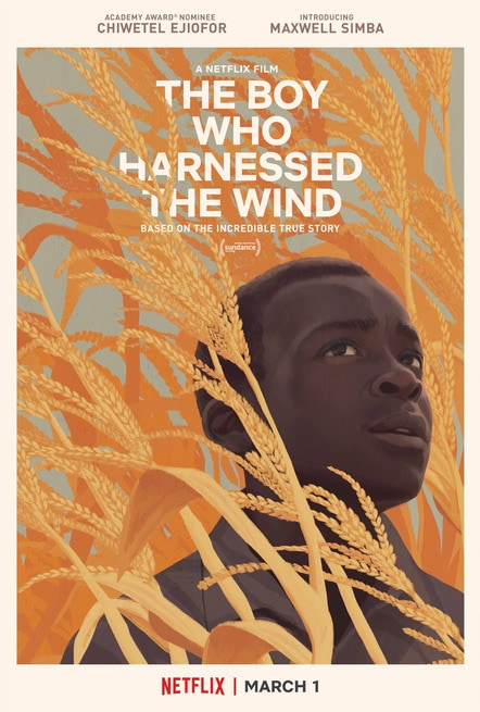 Risultati immagini per il ragazzo che catturò il vento poster