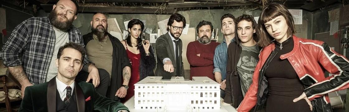 La Casa Di Carta In Streaming Filmtvit