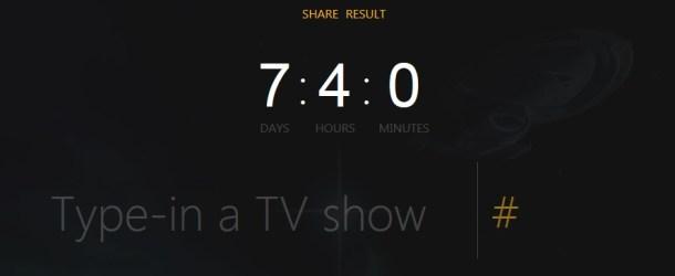 Wie viel Zeit habt ihr schon mit Serien verbracht? Jetzt einfach ausrechnen lassen!