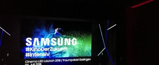 Deutschlandpremiere des Samsung Cinema LED Screen: Kino ohne Projektor