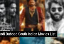 Hindi Dubbed South Indian Movies List