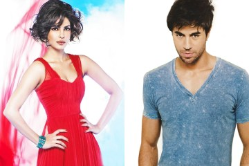 Priyanka Chopra in an English album with Enrique Iglesias