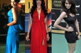 Bipasha Basu hot red carpet pics