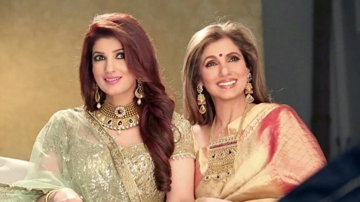 Twinkle Khanna and Dimple Kapadia