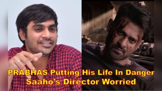 Why SAAHO'S Director is WORRIED about Rebel star PRABHAS?