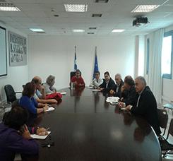 Συνάντηση ΥΠΑΙΘ, Ανδρέα Λοβέρδου με ΔΟΕ και ΟΛΜΕ