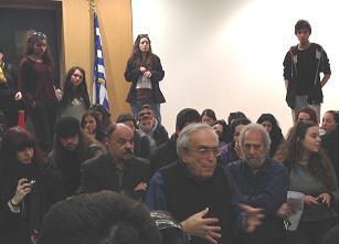 Ο Α. Μπλατάς κάλεσε όλους τους διαδηλωτές φοιτητές μέσα στο υπουργείο Παιδείας