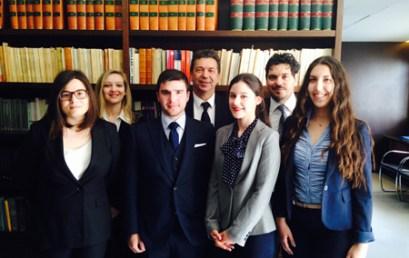 Σημαντική διεθνής διάκριση της Νομικής Σχολής στον διαγωνισμό εικονικής διεθνούς εμπορικής διαιτησίας