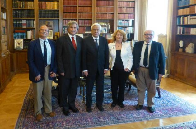 Συνάντηση με τον Πρόεδρο της Δημοκρατίας είχαν τα μέλη του ΔΙΚΑΜ  του ΑΠΘ