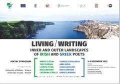 Συμπόσιο Ποίησης: Living/Writing, Inner and outer landscapes of Irish and Greek poets