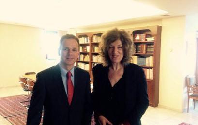 Συνάντηση της Αναπληρώτριας Υπουργού Παιδείας με τον Ολλανδό πρέσβη