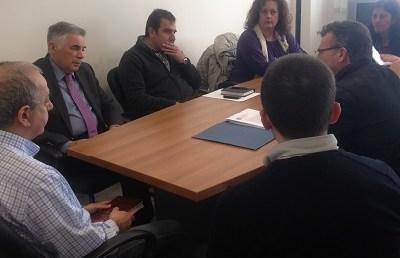«Συνάντηση Υφυπουργού Παιδείας, Έρευνας και Θρησκευμάτων με το Δ.Σ. των εργαζομένων της Εθνικής Βιβλιοθήκης της Ελλάδος»