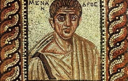 Το αρχαίο ελληνικό θέατρο στο YouTube! (5) Μένανδρος