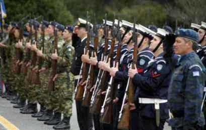 Καθορισμός του αριθμού των σπουδαστών-τριών που θα εισαχθούν στις Στρατιωτικές Σχολές