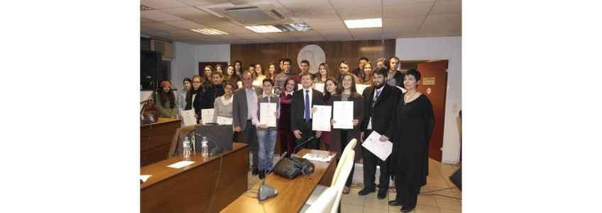 Με μεγάλη επιτυχία πραγματοποιήθηκε η απονομή των βραβείων για τον 2ο Λογοτεχνικό Διαγωνισμό Δήμου Βύρωνα
