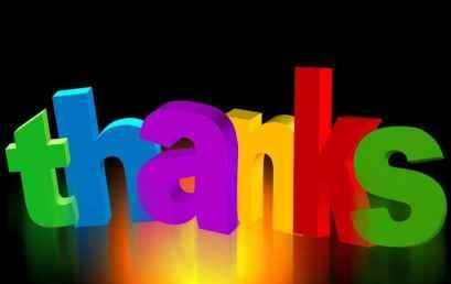 Το να λες ευχαριστώ…