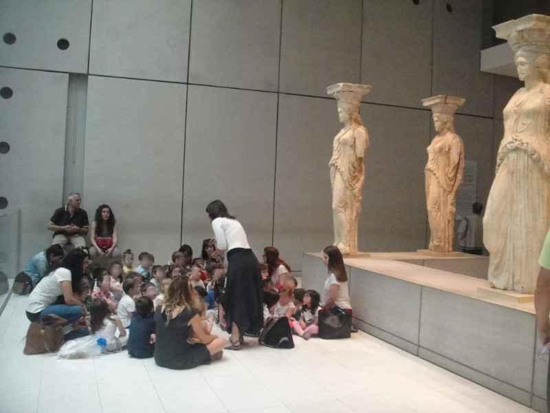 Μια διαφορετική βόλτα στο Νέο Μουσείο της Ακρόπολης: Εκπαιδευτικό πρόγραμμα για παιδιά 4-8 ετών