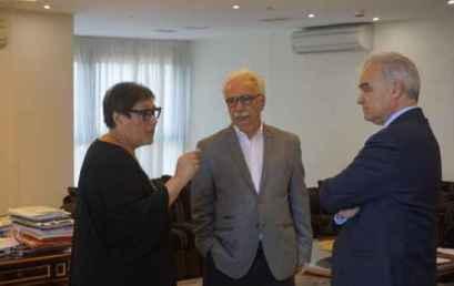 Σε θετικό κλίμα η συνάντηση του Υπουργού Παιδείας, Έρευνας και Θρησκευμάτων Κώστα Γαβρόγλου με το Προεδρείο της Συνόδου των Πρυτάνεων