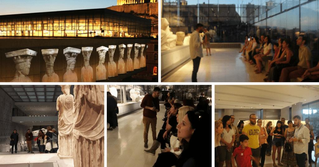Ανακαλύπτοντας τα μυστικά του Nέου Μουσείου της Ακρόπολης(Παρασκευή 25 Aυγούστου, 19:30)