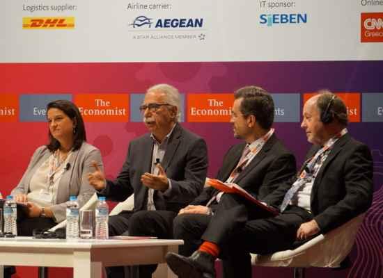 Η ομιλία του Υπουργού Παιδείας, Έρευνας και Θρησκευμάτων, Κώστα Γαβρόγλου, στο Συνέδριο του Economist 'A world in transition: The new jobs, The new skills'