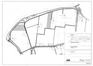 Concept plan fundatie posities windpark Spui