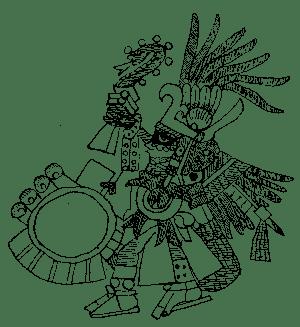 El Dios Huitzilopochtli