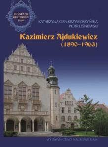 """Okładka książki """"Kazimierz Ajdukiewicz"""""""
