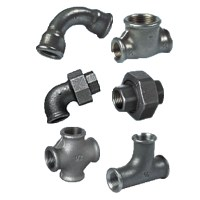 Malleable Iron Pipe Fittings - Pipes, Hoses & Fittings