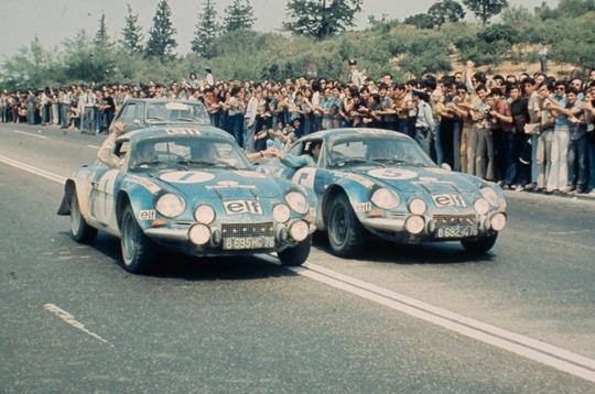 """Résultat de recherche d'images pour """"Alpine A110 1973 victoire mondiale"""""""