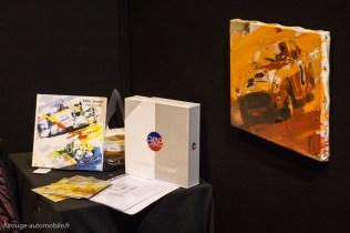 Rétromobile 2015 - Présentation du livre AMR sur le stand de Yahn Janou