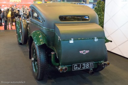 "Rétromobile 2015 - Bentley Speed six ""Blue Train"" de 1930"