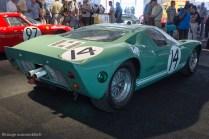 Ford GT40 Mk1 - abandon aux 24 Heures du Mans 1965