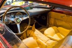 Rétromobile 2016 - poste de conduite Ferrari 250