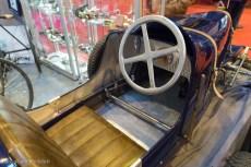 Rétromobile 2016 - poste de conduite jouet Bugatti