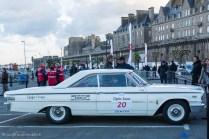 Ford Galaxie 500 1963 de Richard Mille, ici au Tour Auto 2017