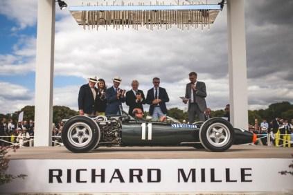 BRM H16 MKII 1967 présentée par Richard Mille à Chantilly 2015, vainqueur du prix Alain Figaret