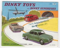 catalogue Dinky Toys 1957