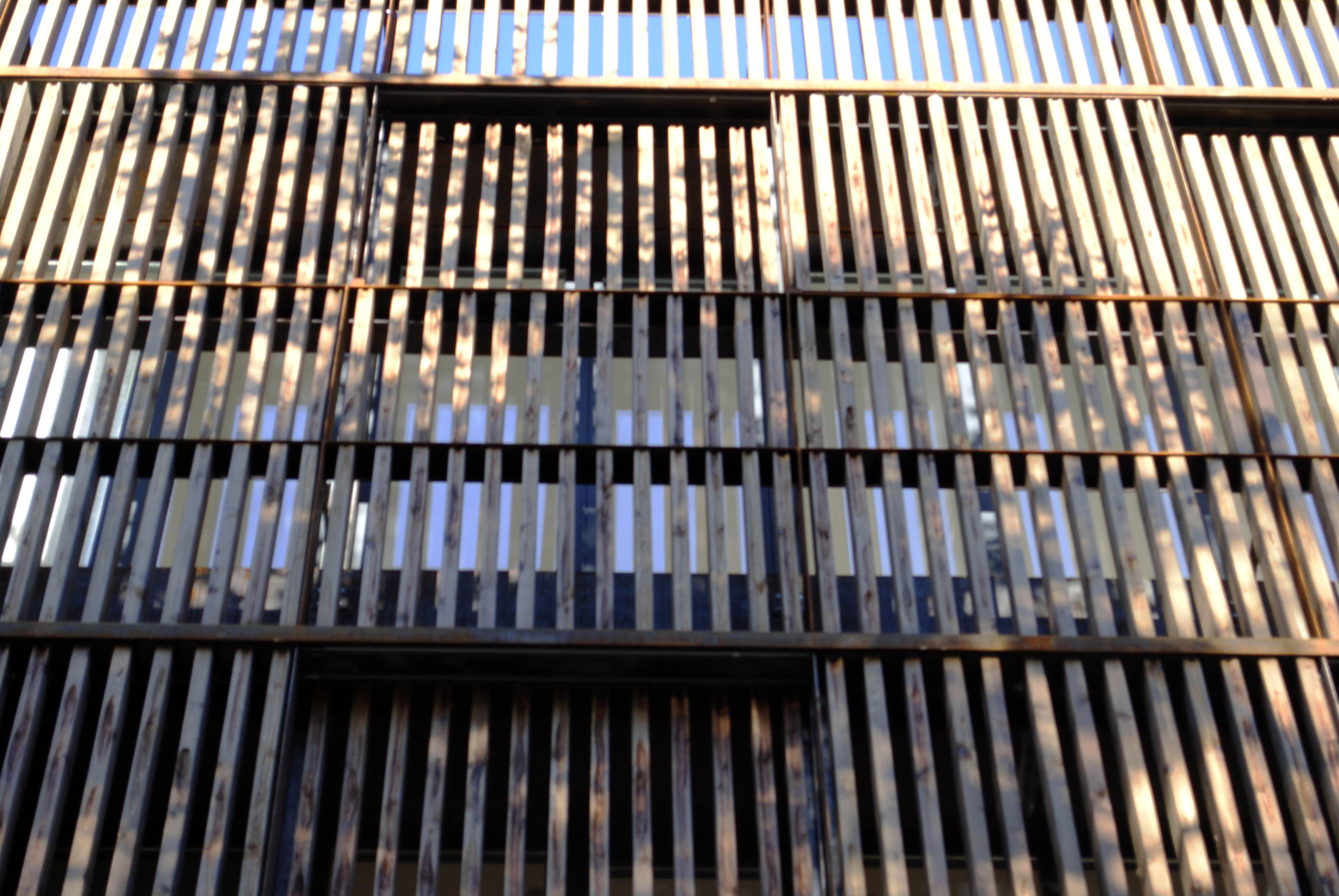 Louvered Panels As Outer Skin And Exterior Shutters 225