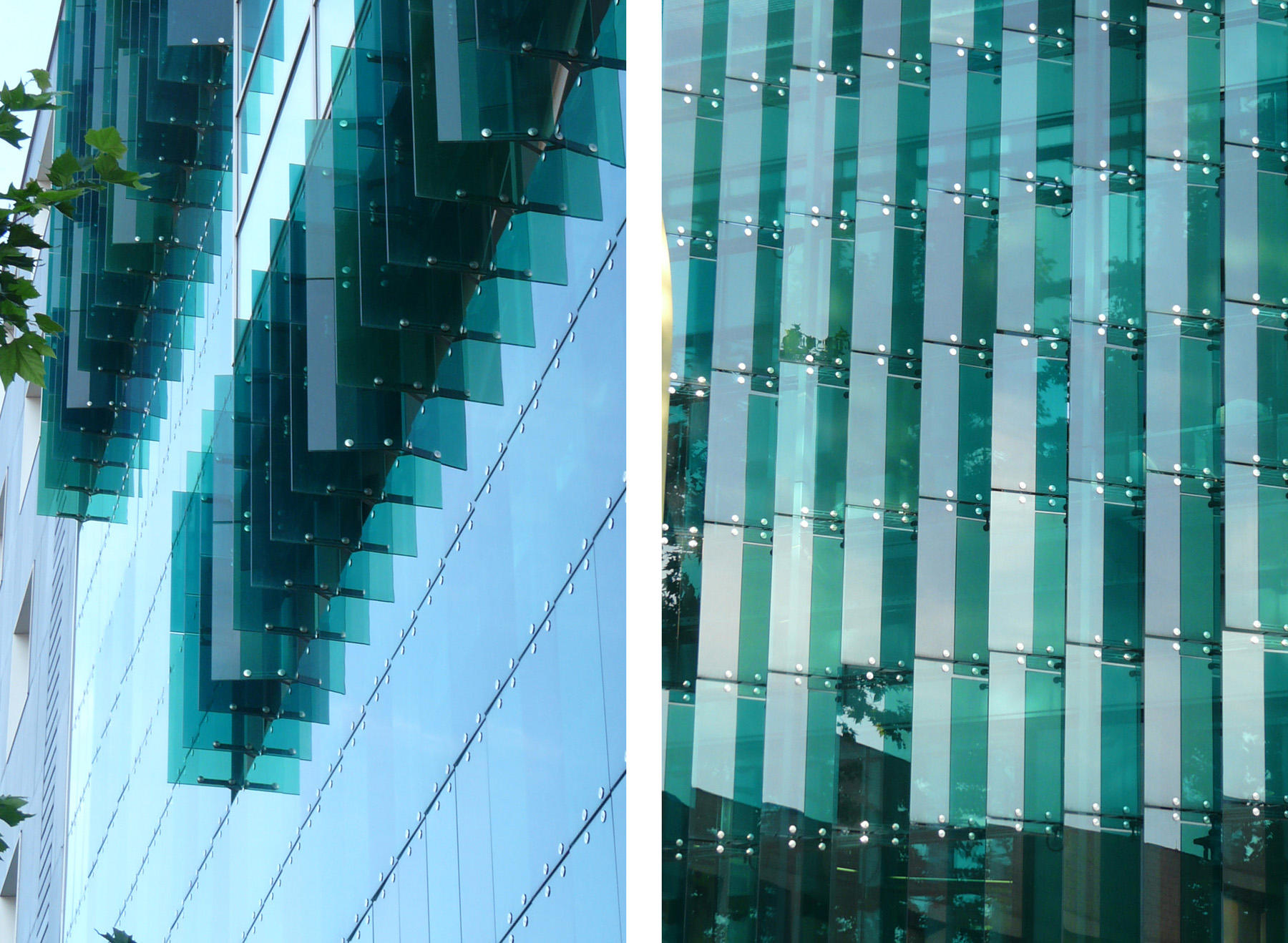 Tinted Glass Louvers On Gaes Headquarters By Mizien 343
