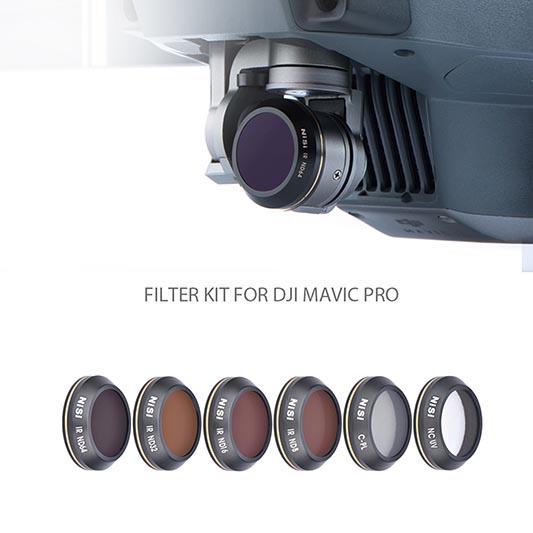 NiSi filters voor drones.