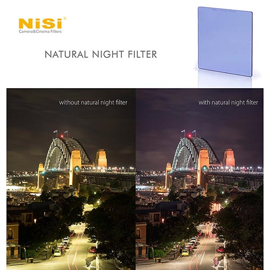 NiSi Natural Night filter.